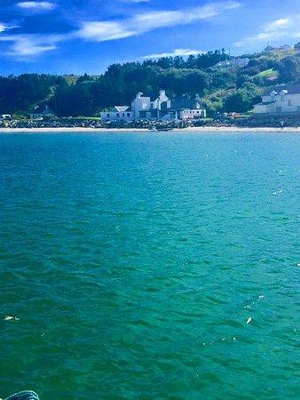 Burtonport, Ireland: Leabgarrow beach at full tide