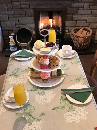 Eaglesham, UK: Treat your mum to Afternoon Tea st the Wishing Well Tearoom.