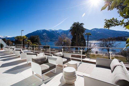 Hotel La Palma au Lac: Sonnenterrasse