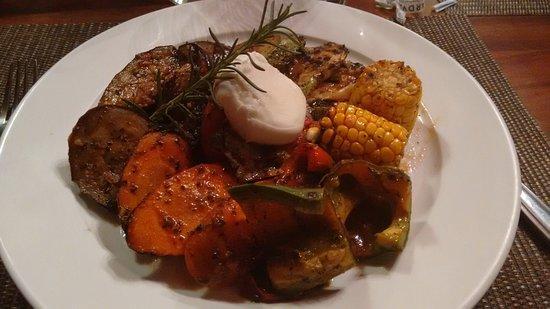 El Jardin at Monteverde Lodge & Gardens: Grilled vegetables plate