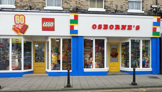 The first shop to sell Lego,this was in 1960,and is Osborne's in ...