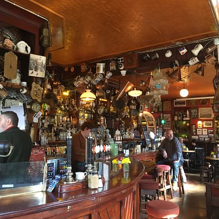 """Crosshaven, Ireland: A """"mother"""" type of bar - warm and wonderfully comfortable bar that hugs you and provides home co"""