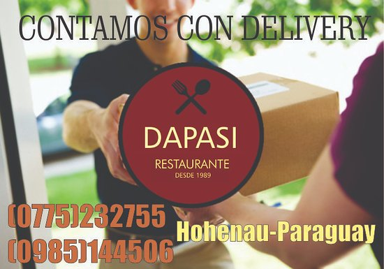 Hohenau, Paraguay : Delivery