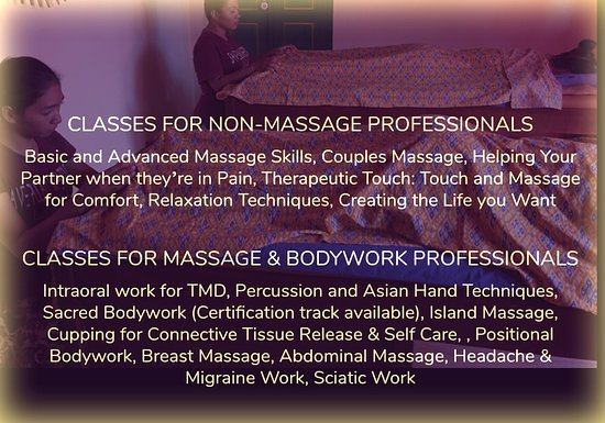 Hand in Hand Massage: Classes for professionals and non-professionals