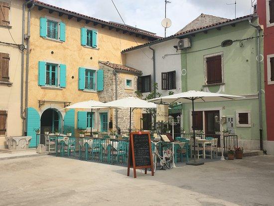 Fazana, Croatia: outside terrace