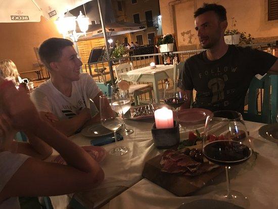 Fazana, Croatia: primo piato only from Istria