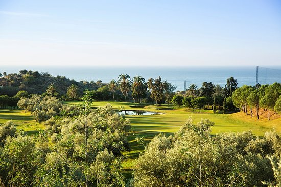 Añoreta Golf: This is the 7th hole at Anoreta Golf Club in Rincon de la Victoria in Spain.