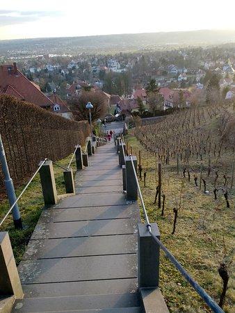 Spitzhaus Stairs: fast geschafft, aber schon der Ausblick lohnt
