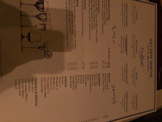 Санни-Айлс-Бич, Флорида: menu