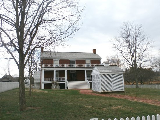 Appomattox, VA: The McLean House, Feb 2018, where General Lee surrendered to General Grant