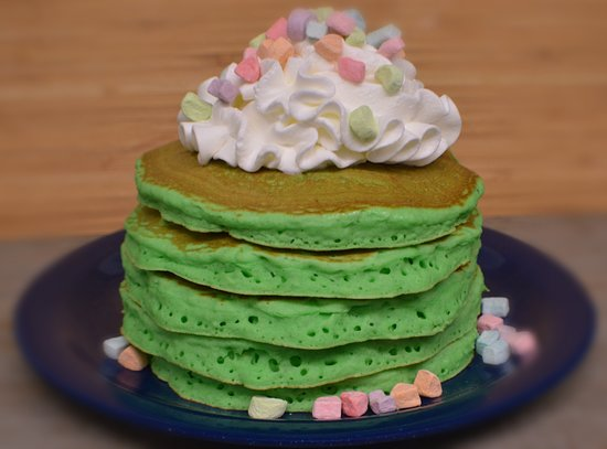 East Wareham, ماساتشوستس: Lucky Charms Pancakes