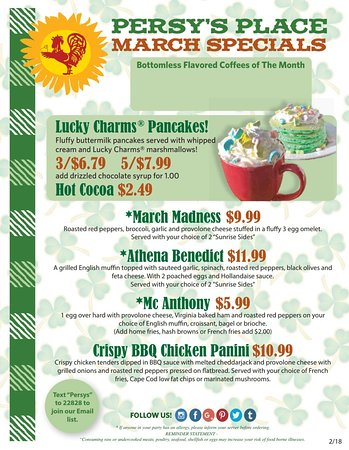 Kingston, MA : March Specials