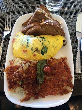 "Raya at The Ritz-Carlton: ""Cali"" Omelette"