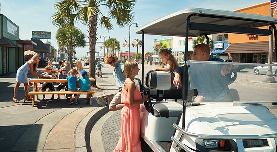 North Myrtle Beach, SC: Take a break or grab a delicious treat along one of South Carolina's funkiest little Main Street