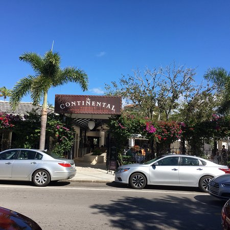 Continental Restaurant Menu Naples