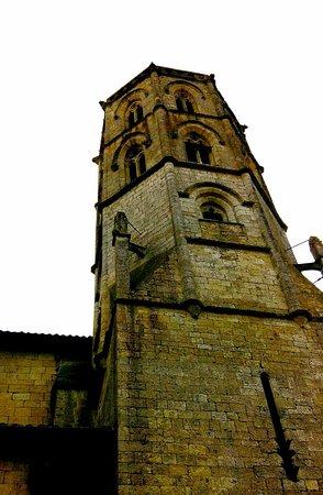 Monfort, ฝรั่งเศส: Le clocher octogonal
