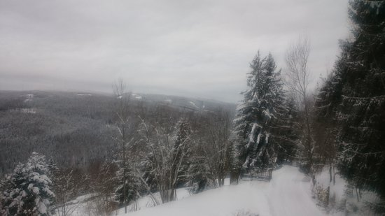 Krieglach, ออสเตรีย: Balcony view