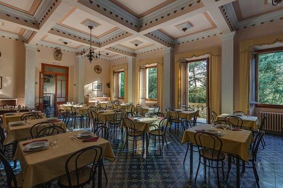 Sala colazioni/ristorazione Giotto Park Hotel di Bivigliano