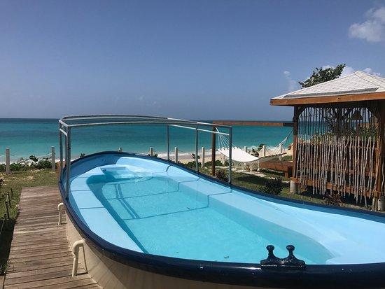 Crab Hill, Antigua: The boat pool, LIMBO