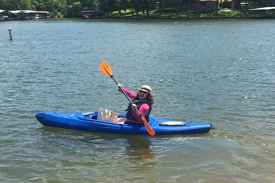 Gravois Mills, MO: Rent a kayak or stand up paddleboard during your stay!