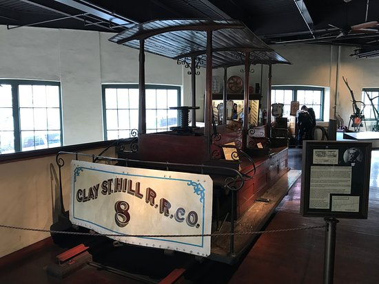 Cable Car Museum: One of the orignal cars