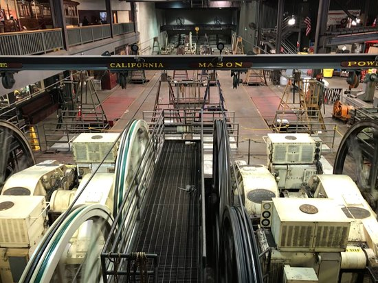 Cable Car Museum: The cables with the streets they work