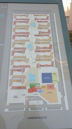The Park Las Vegas Map.Map Of The Grounds Picture Of Alexis Park Resort Las Vegas