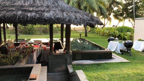 Constance Lemuria: barbecue privé dans notre villa