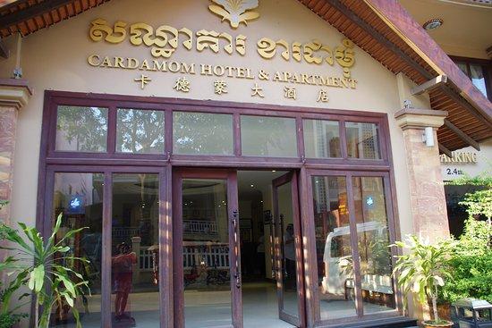 Ingresso Picture Of Cardamom Hotel Phnom Penh Tripadvisor