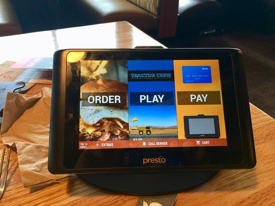 Spokane Valley, WA: You can order, play & pay right at the table.