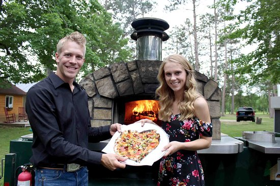 McGregor, MN: We bring our mobile wood fired oven to your venue across the northland!