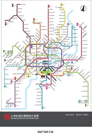 Subway Map Of Shanghai.Shanghai Subway Map Izobrazhenie Westchinago Chendu Tripadvisor