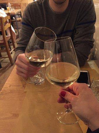 Vineria Santa Marta: Owner suggested white wine