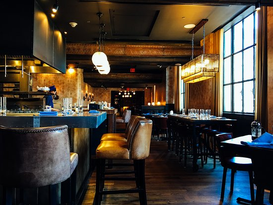 Restaurant interior picture of the keep liquor bar