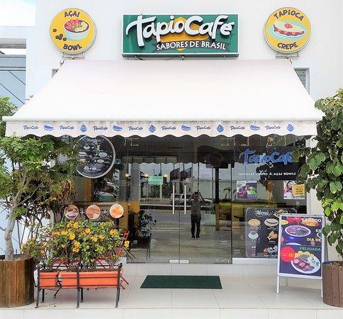 Entrada Principal Tapiocafe Brasil