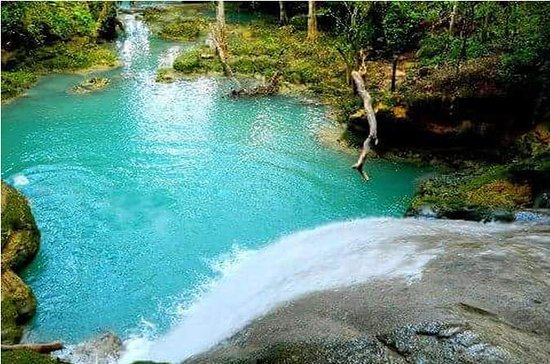Private Blue Hole und Konoko Falls ...