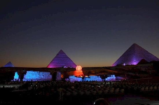 Pyramids of Giza Sound and Light Show...