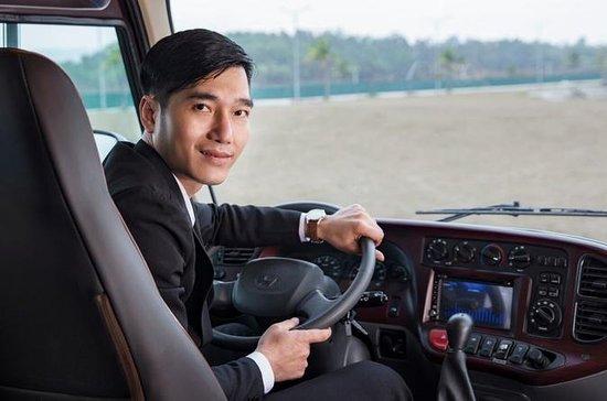 Rosa Eco Bus Luxury Transfer Ha Noi to Ha Long