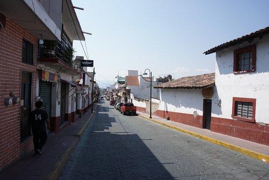 Tonatico, Mexiko: Улица