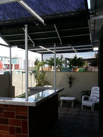 Bar En El Jardin De La Terraza Picture Of Hostal Heredia
