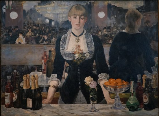The Courtauld Gallery: A Bar at the Folies Berger.