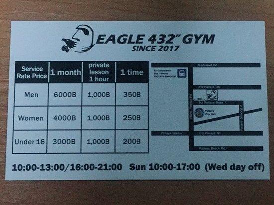 """Eagle 432"""" Gym"""