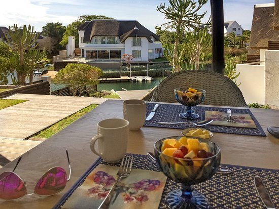 Saint Francis Bay, Zuid-Afrika: Breakfast