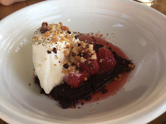 Ewingsdale, Australie : Chocolate okara cake
