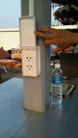 วินดี้ อินน์: Now with Power Outlets for Mobile Users!!