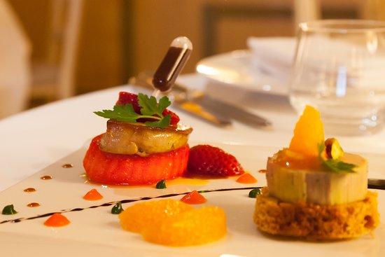 San-Martino-di-Lota, França: Foie gras