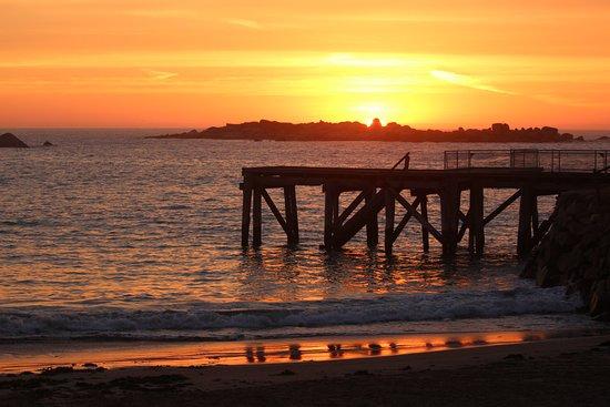 Port Elliot, أستراليا: Pt Elliot Caravan Park Sunrise - Horseshoe Bay ' Love this place! #BIG4portelliotholidaypark