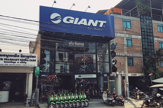 ‪Aing Kimsan Bicycle Shop and Rental‬