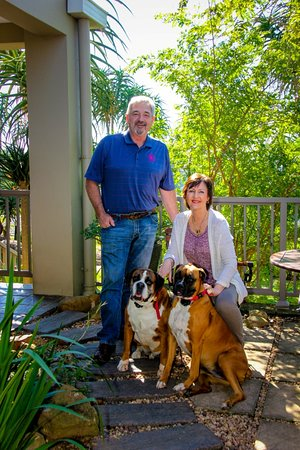 29 on St James Colonial Guest Lodge: The owners Val & Barry Livsey