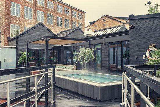 Badhuset Bild Fran Naas Fabriker Hotel Tollered Tripadvisor